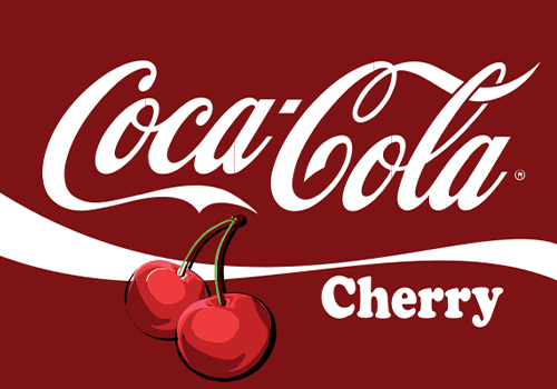 Cherry coke fountain drink
