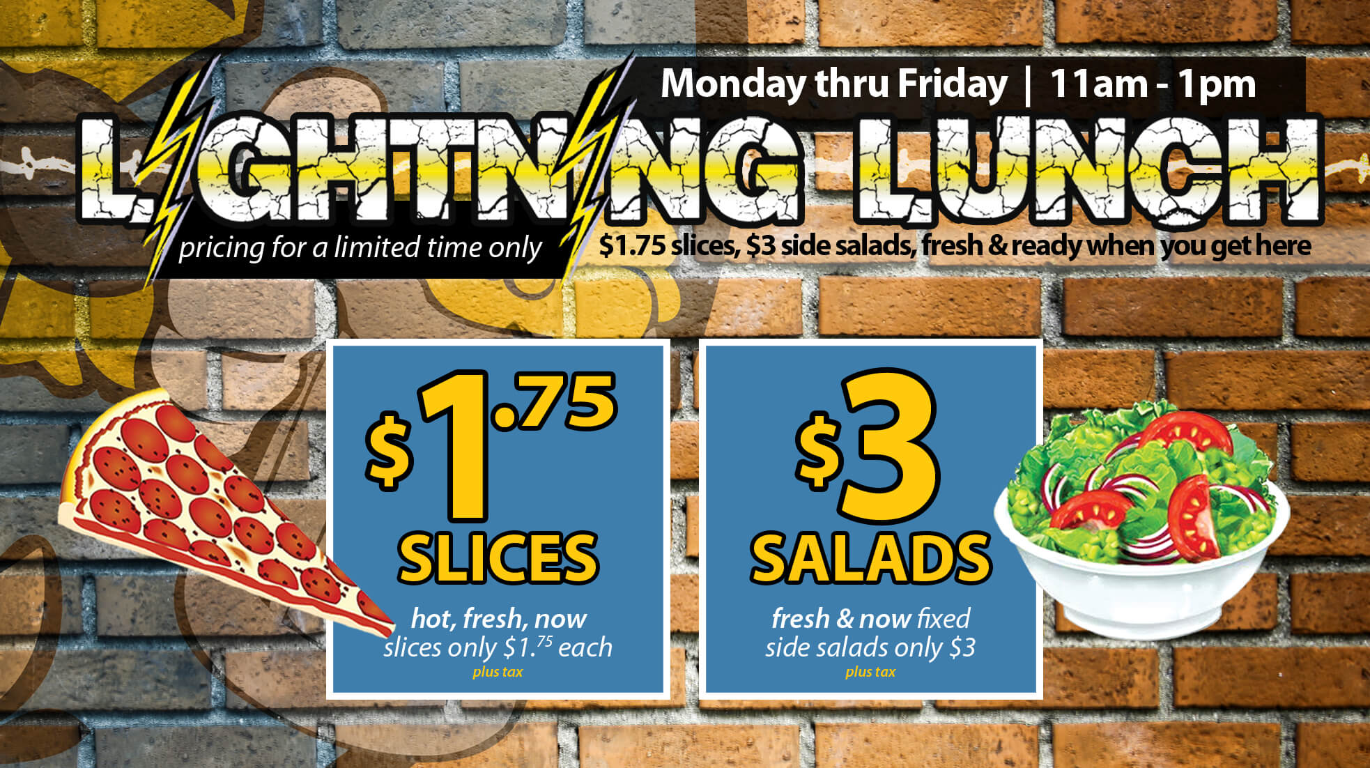 Lightning Lunch combos