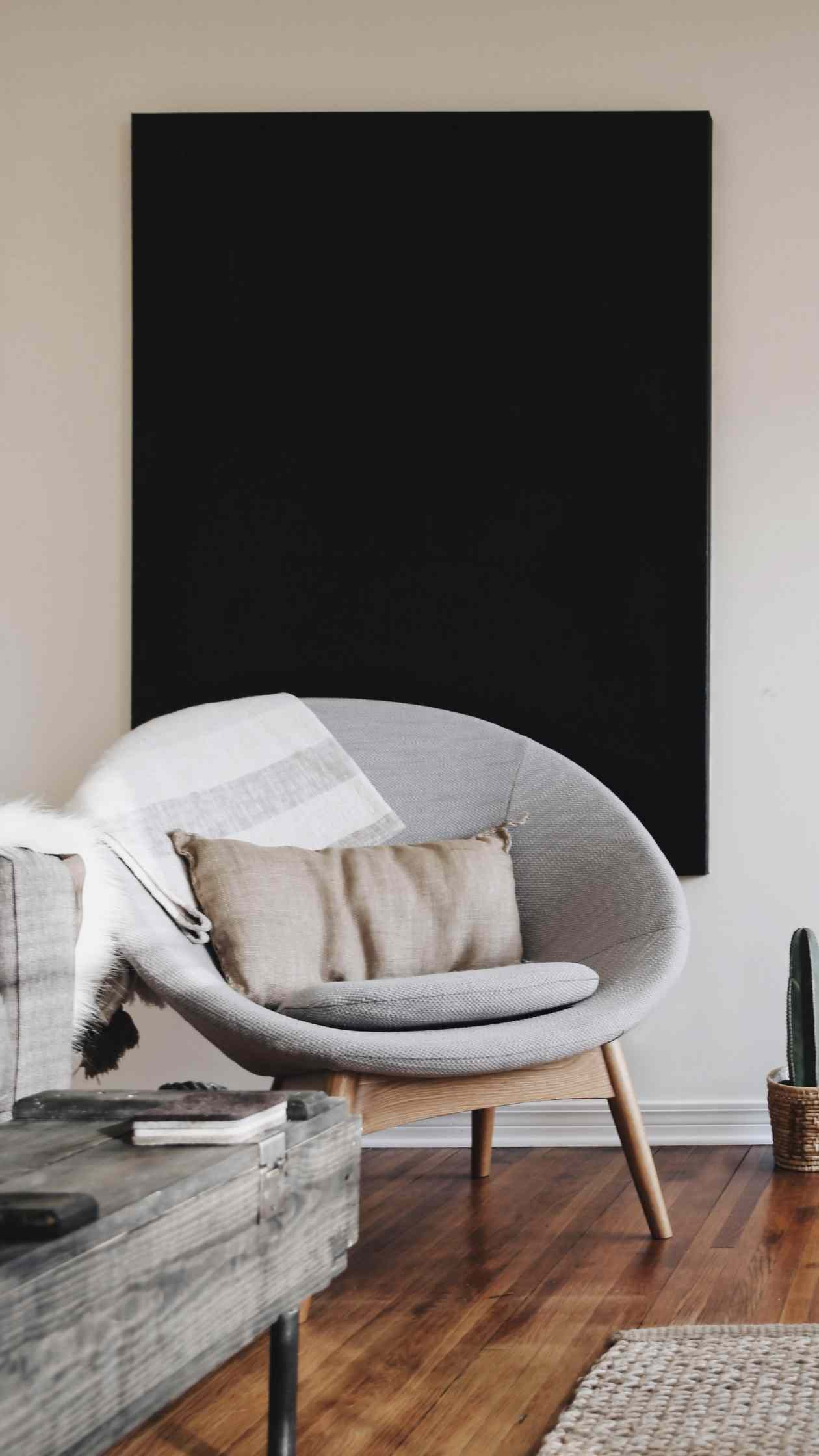 A beautiful reading chair!