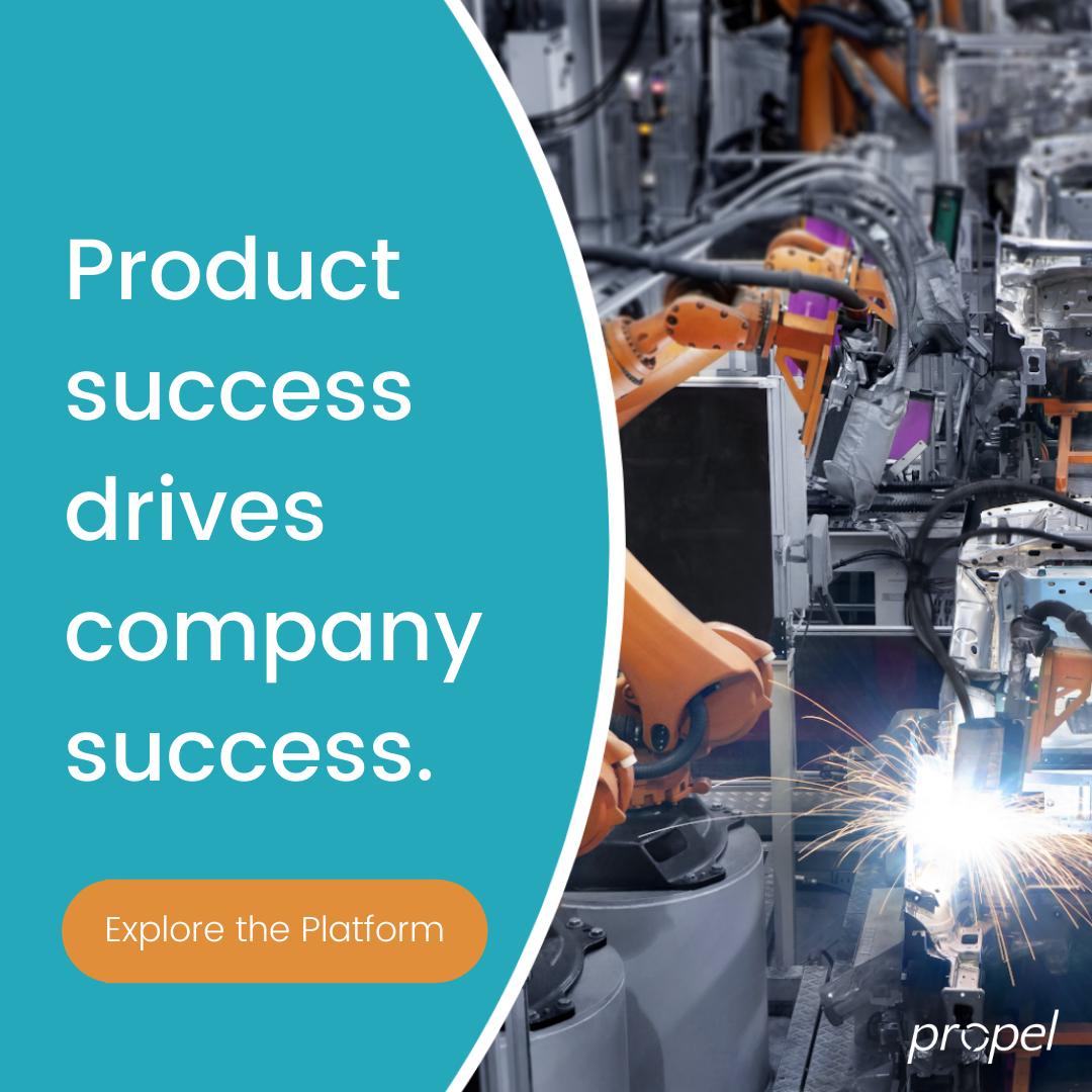 Product success drives company success