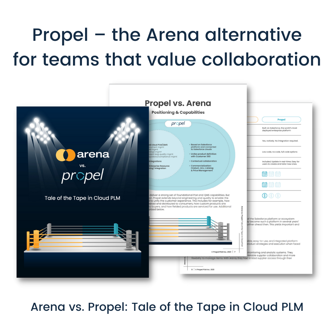 Propel - the Arena alternative for teams that value collaboration