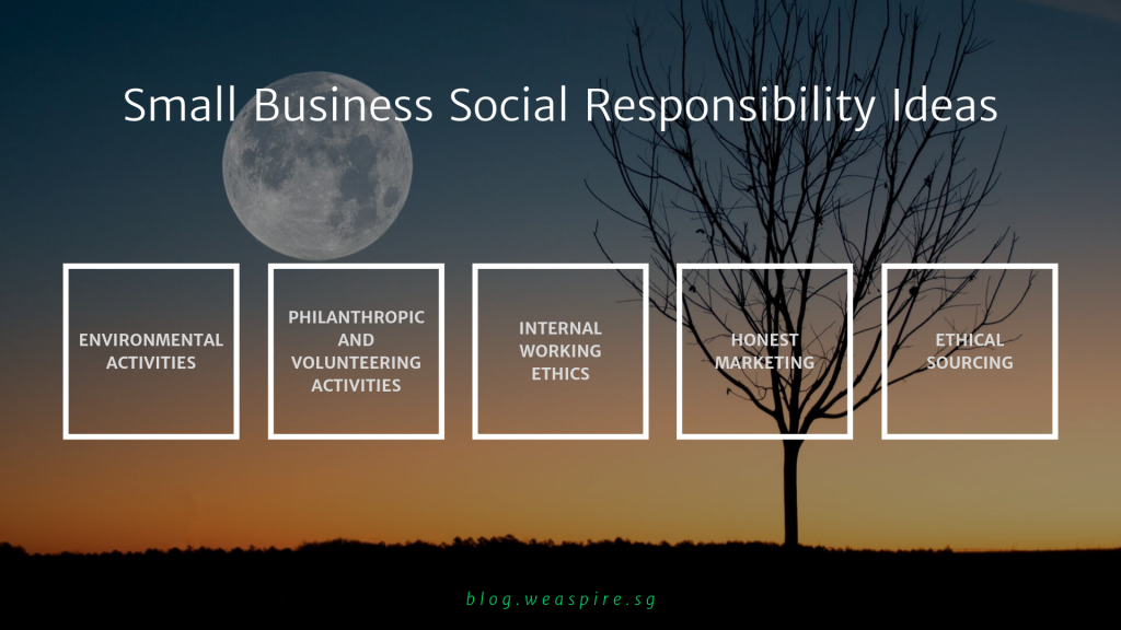 Ideas of Small Business Social Responsibility