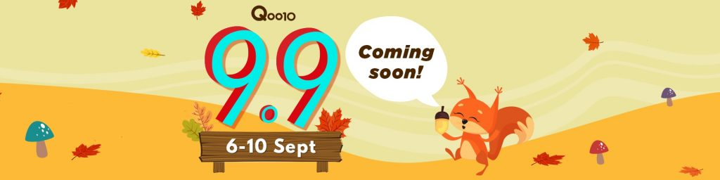 Qoo10 9.9 Day