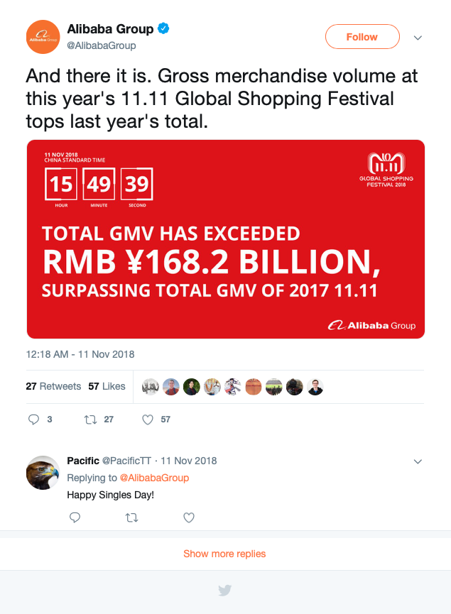 @AlibabaGroup prepare for 11.11