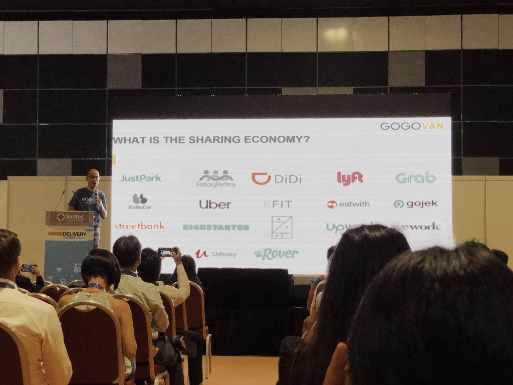 The Sharing Economy by Patrick Wong from GOGOVAN on Home Delivery Asia 2019 Event