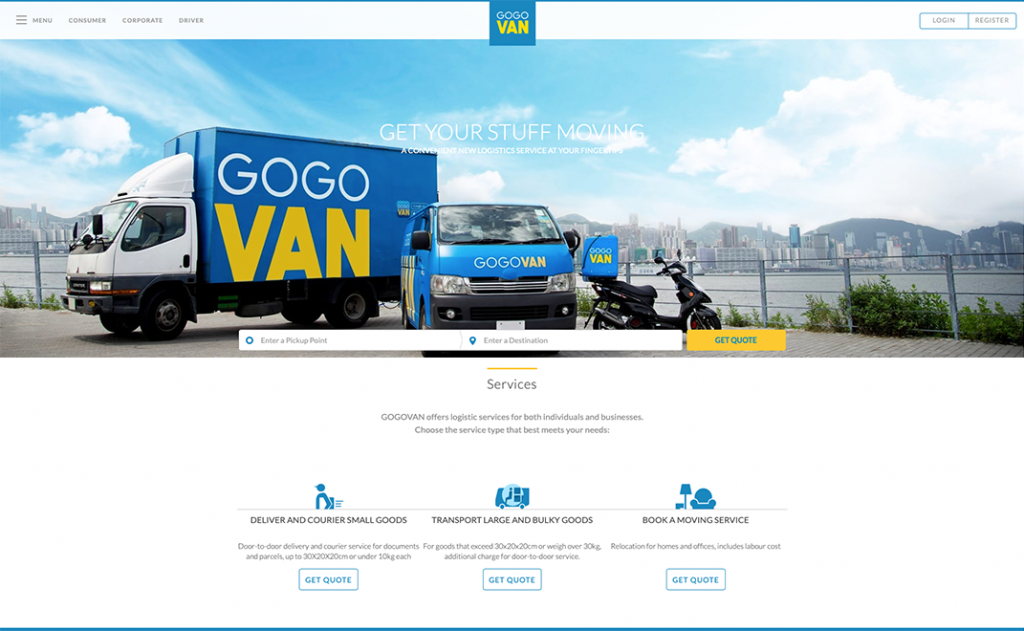 GOGOVAN: Logistic Industry in a Sharing Economy