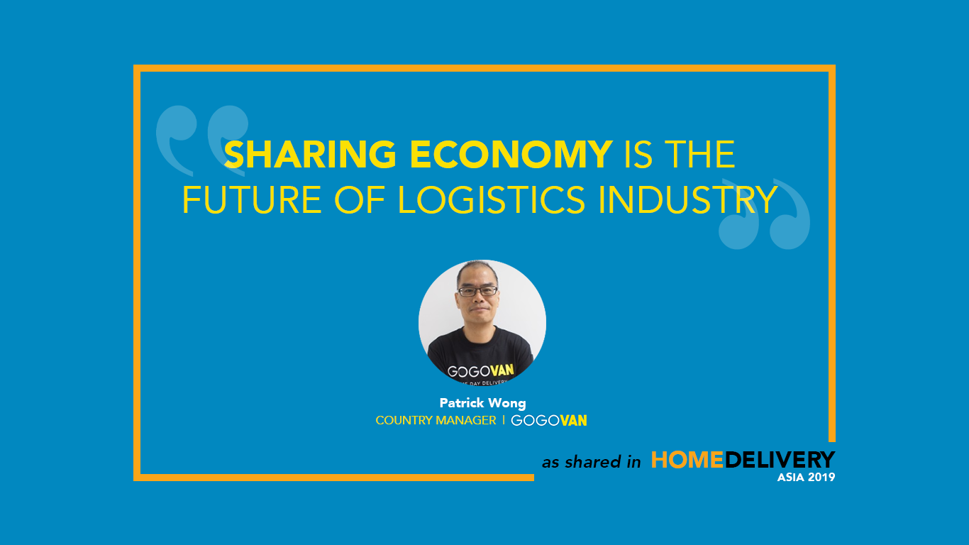 Home Delivery Asia: Sharing Economy is the Future of Logistics Industry