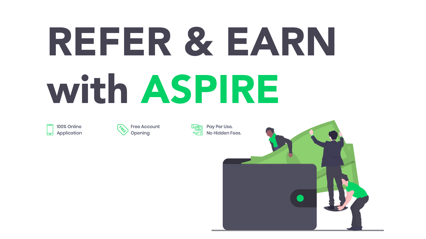 Refer and Earn Money with Aspire