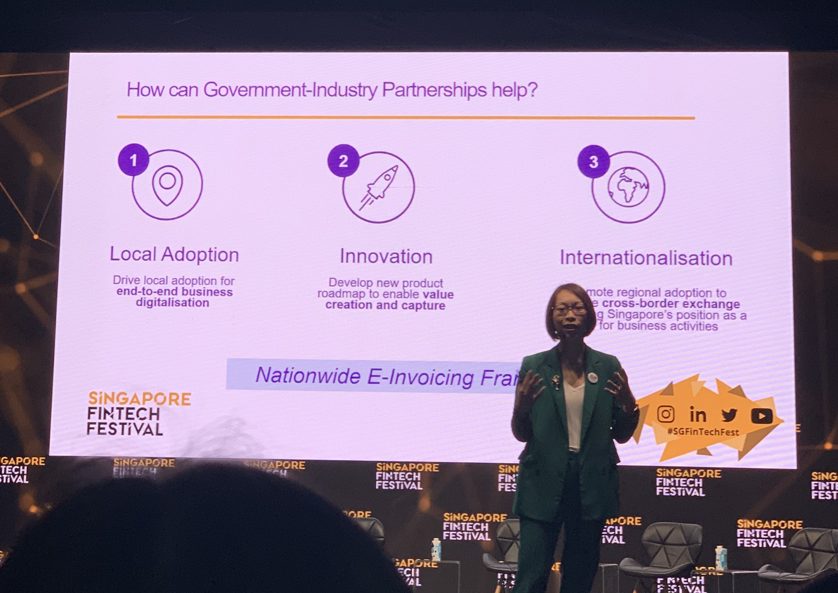 How can Government-Industry Partnership Help? | Singapore Fintech Festival 2019