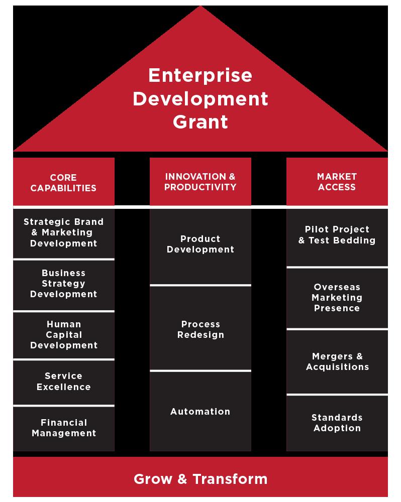 popular smes grant | enterprise development grant