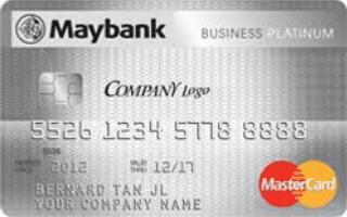 Maybank Business Platinum MasterCard