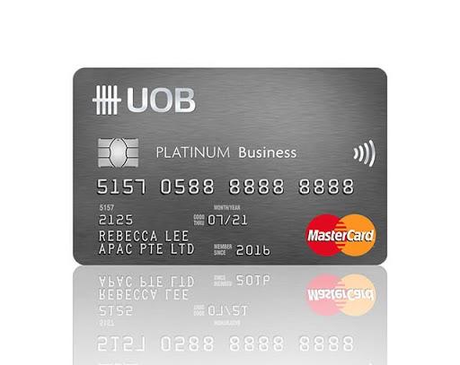 UOB Platinum Business Card Perks & Rewards