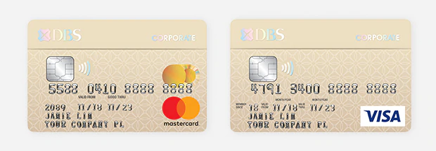 DBS Corporate Charge Card