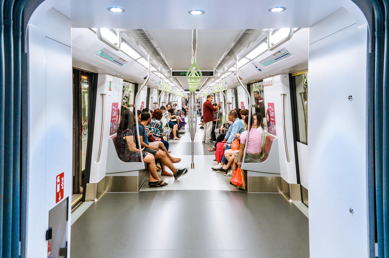 Travel via MRT using Google pay in Singapore