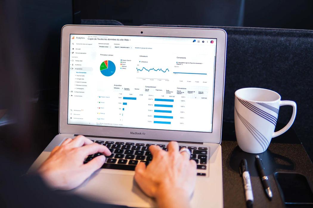 Google Analytics progress report