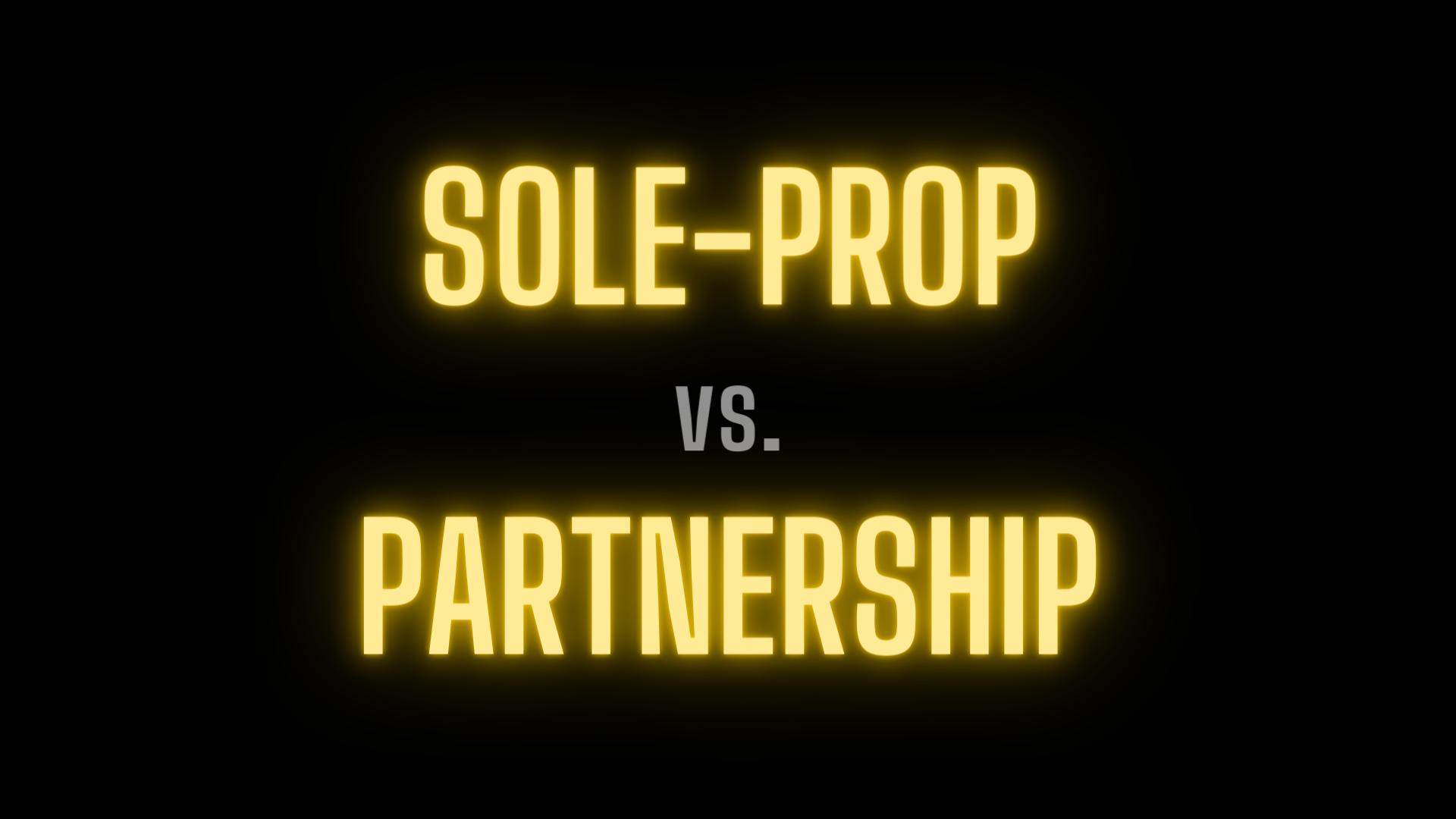 Guide to Choosing Sole Proprietorship vs. Partnership