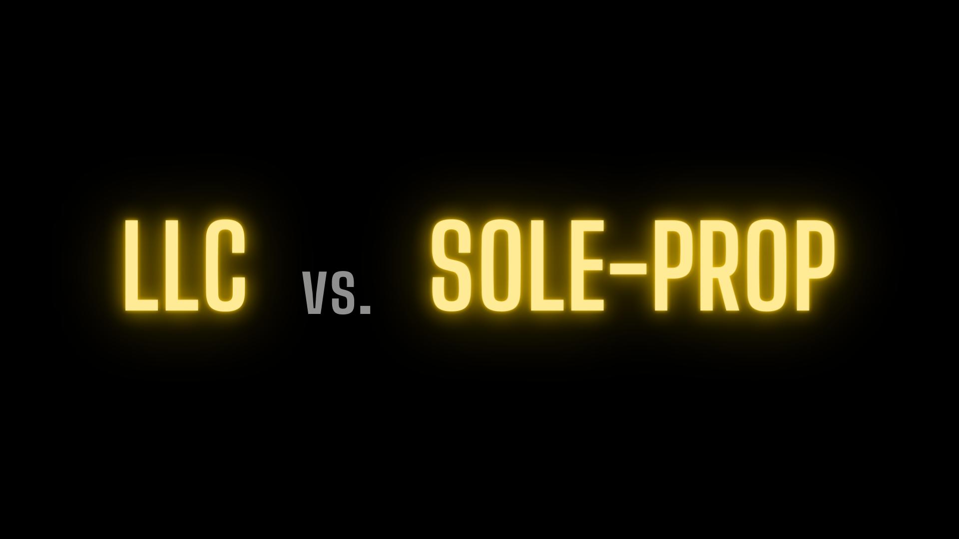 Benefits of LCC vs. Sole Proprietorship