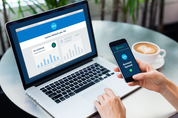 xero integration with a digital business account aspire