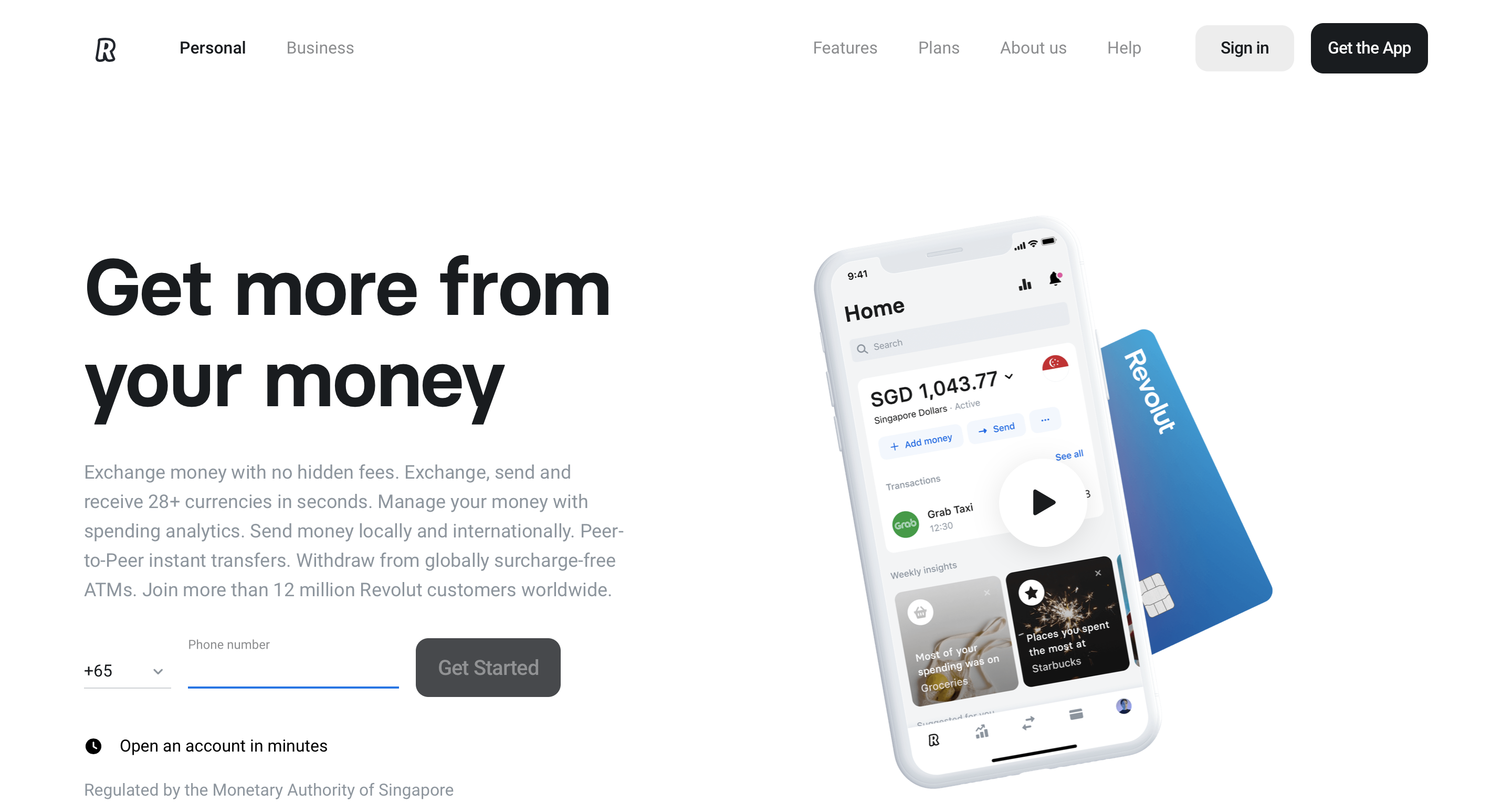 Revolut | Neobank in Singapore