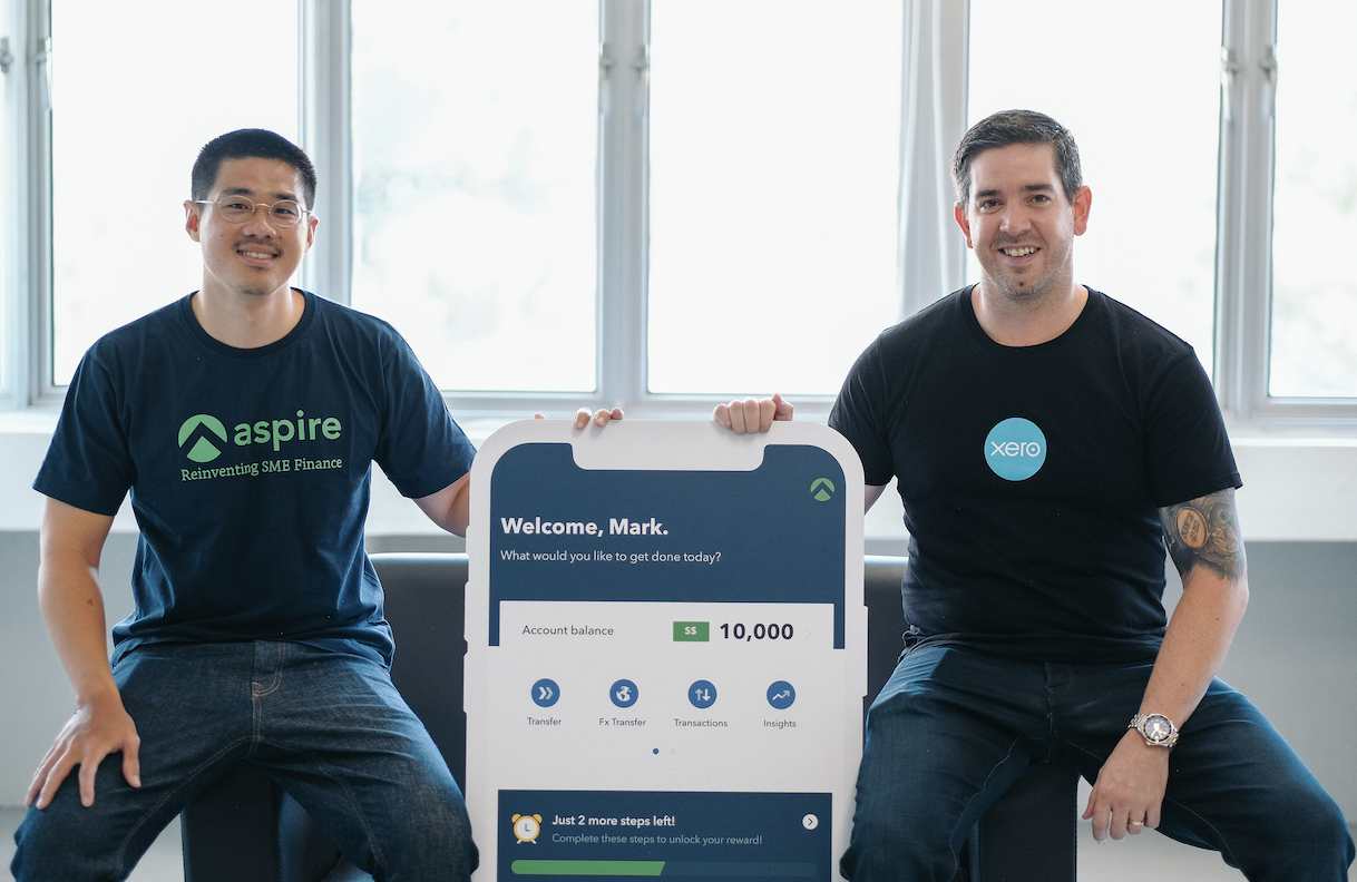 Aspire becomes Xero's first business neobank partner in Southeast Asia