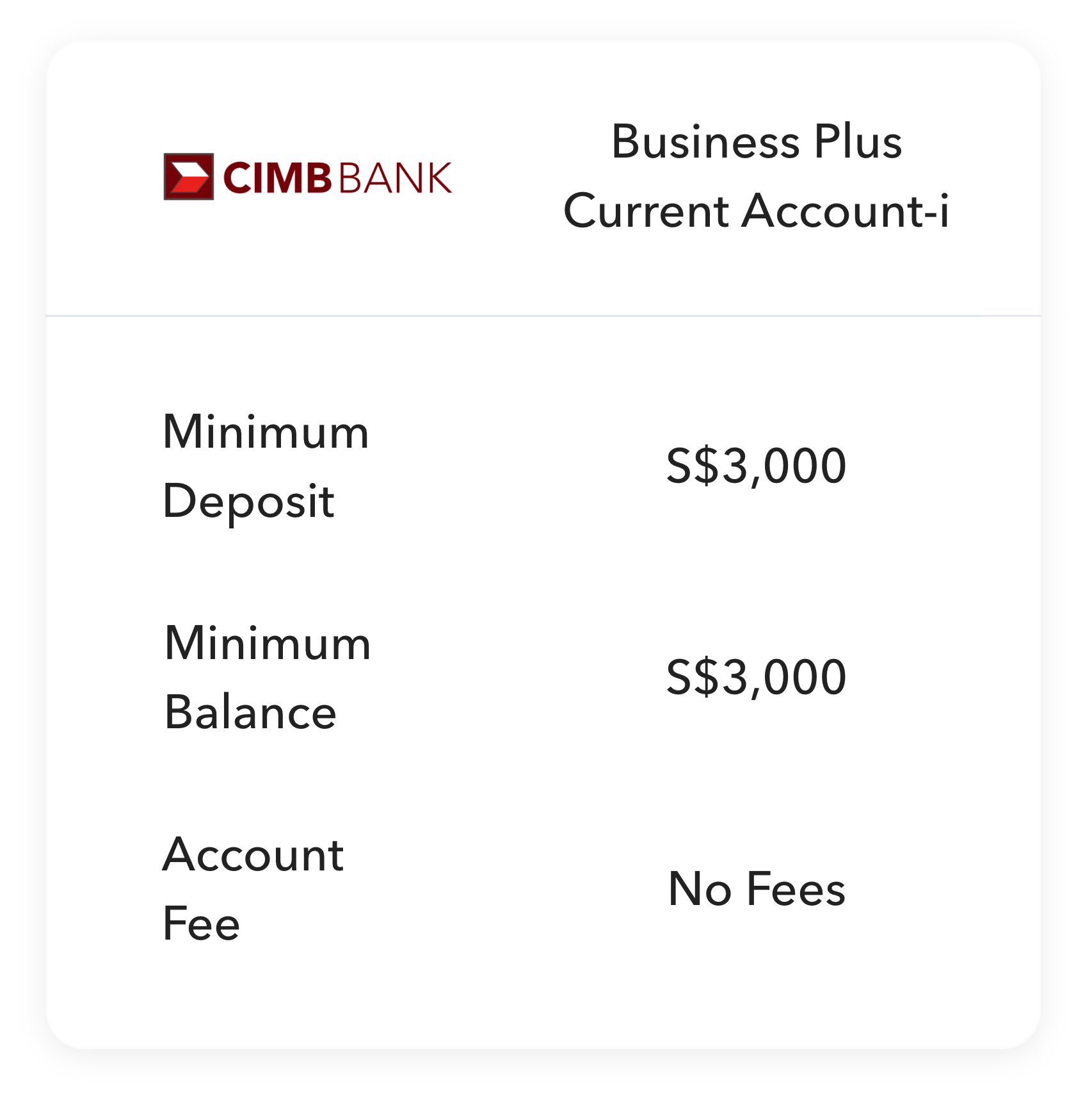 CIMB  support business banking online in Singapore
