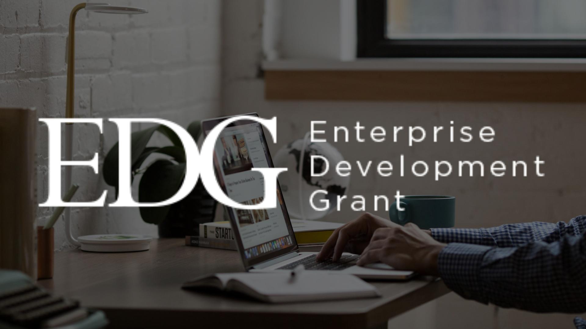 Applying for the Enterprise Development Grant (EDG) in 2021