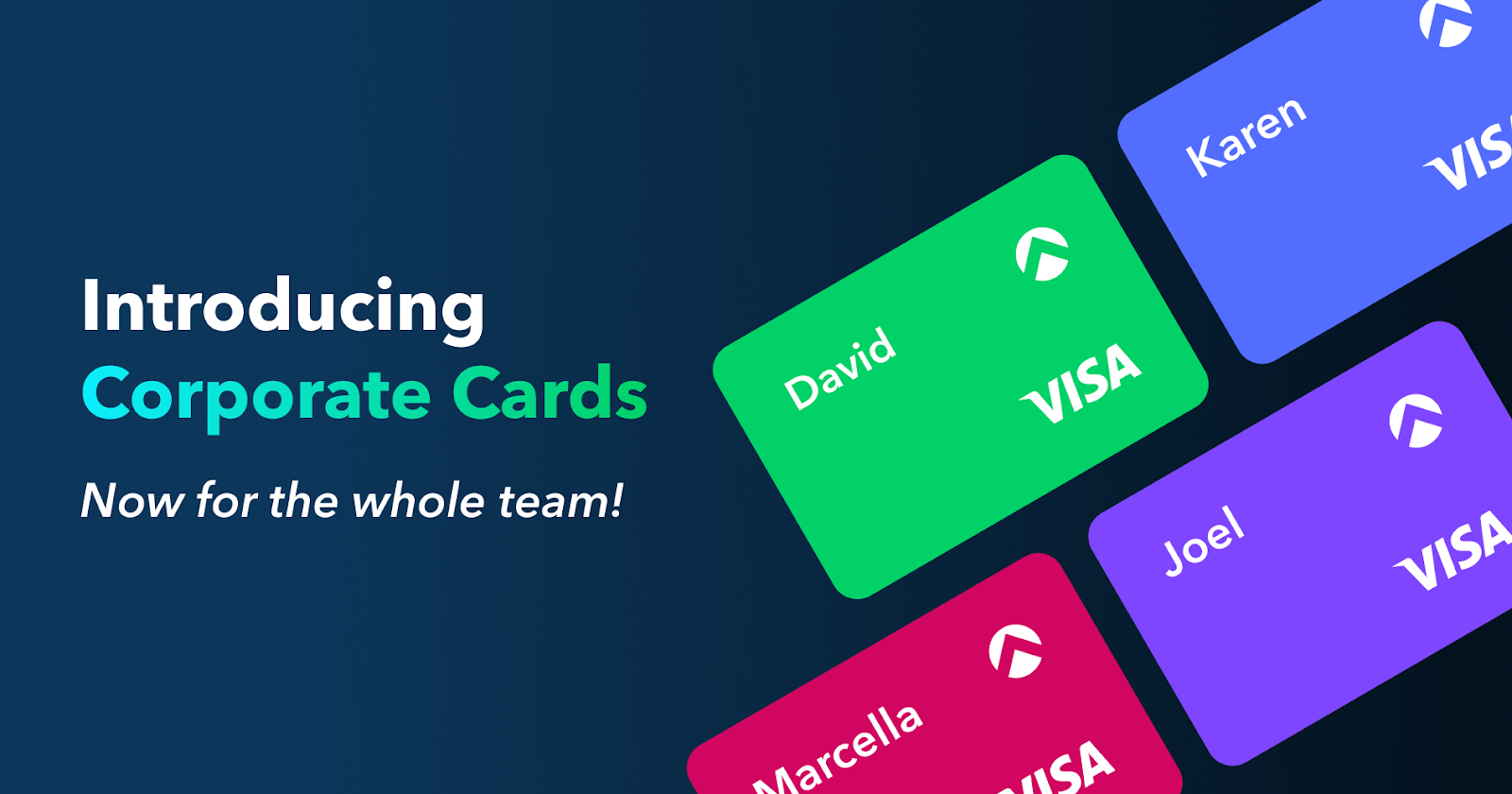 Reimagine Corporate Expenses with Cards — Now For the Whole Team