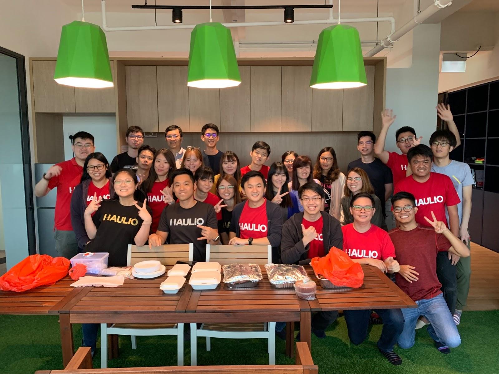 Haulio team photo