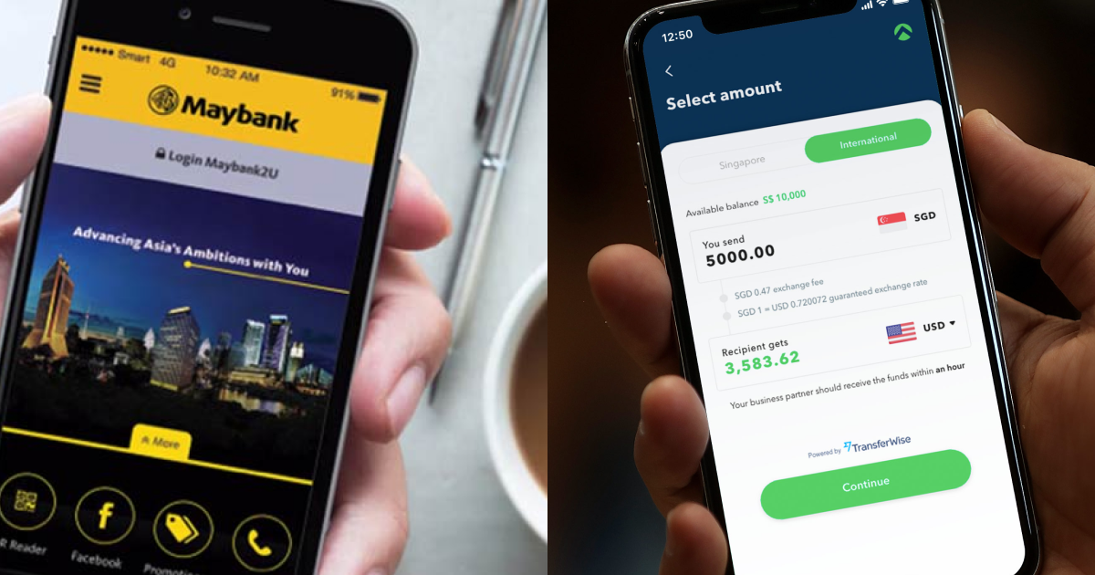 Maybank Business Banking Account vs. Aspire Business Account