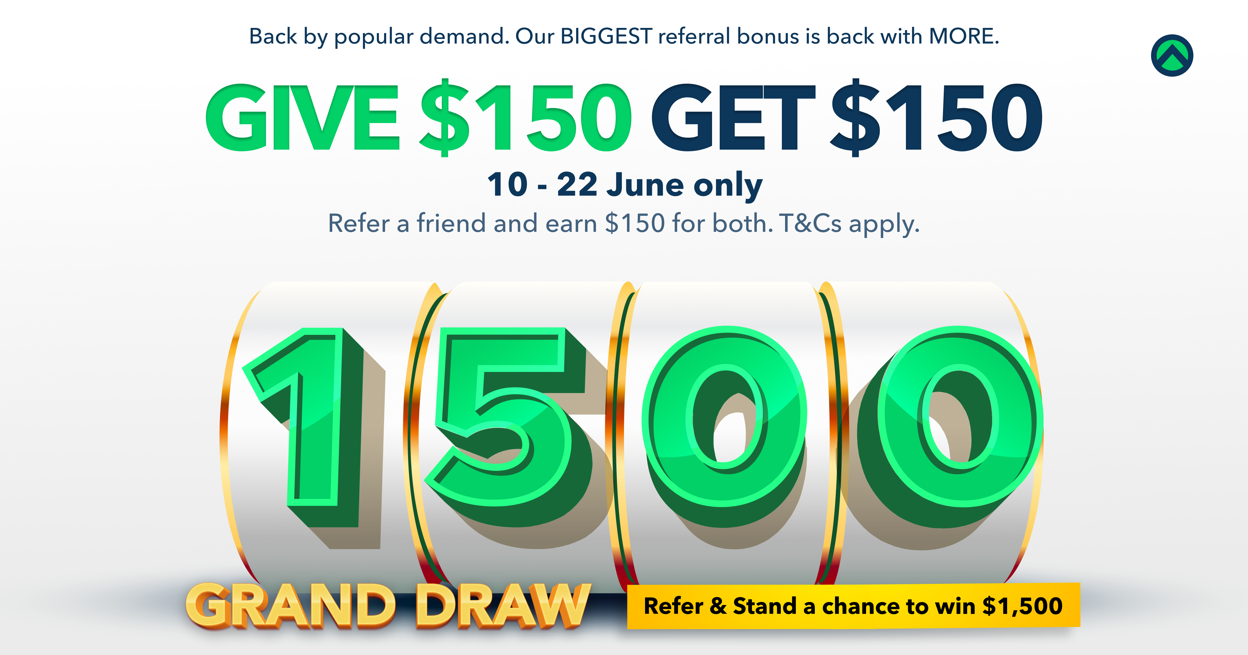 Our BIGGEST referral bonus is back, with MORE!