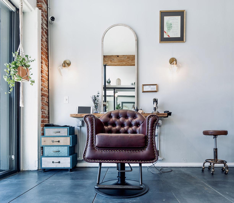 Salon Chair at The Hair Parlor on 8th