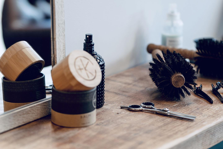 Washing hair at The Hair Parlor On 8th