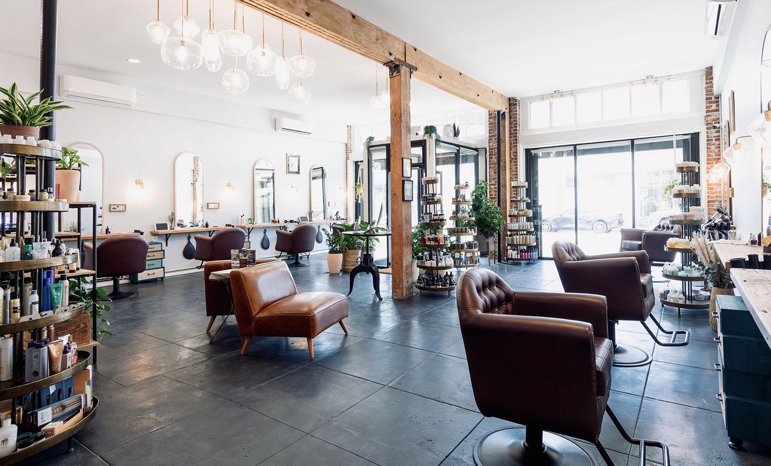 The Hair Parlor On Eighth Interior