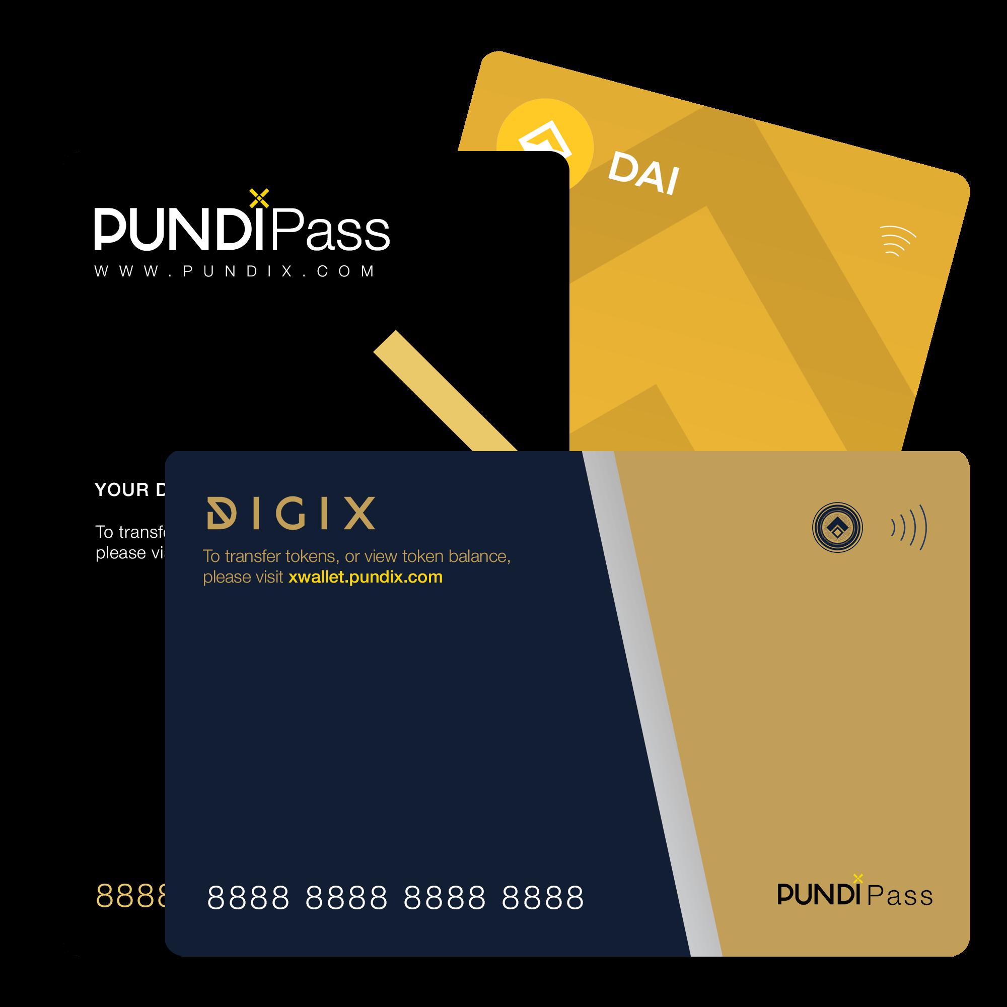 Cartão XPASS Pundi X