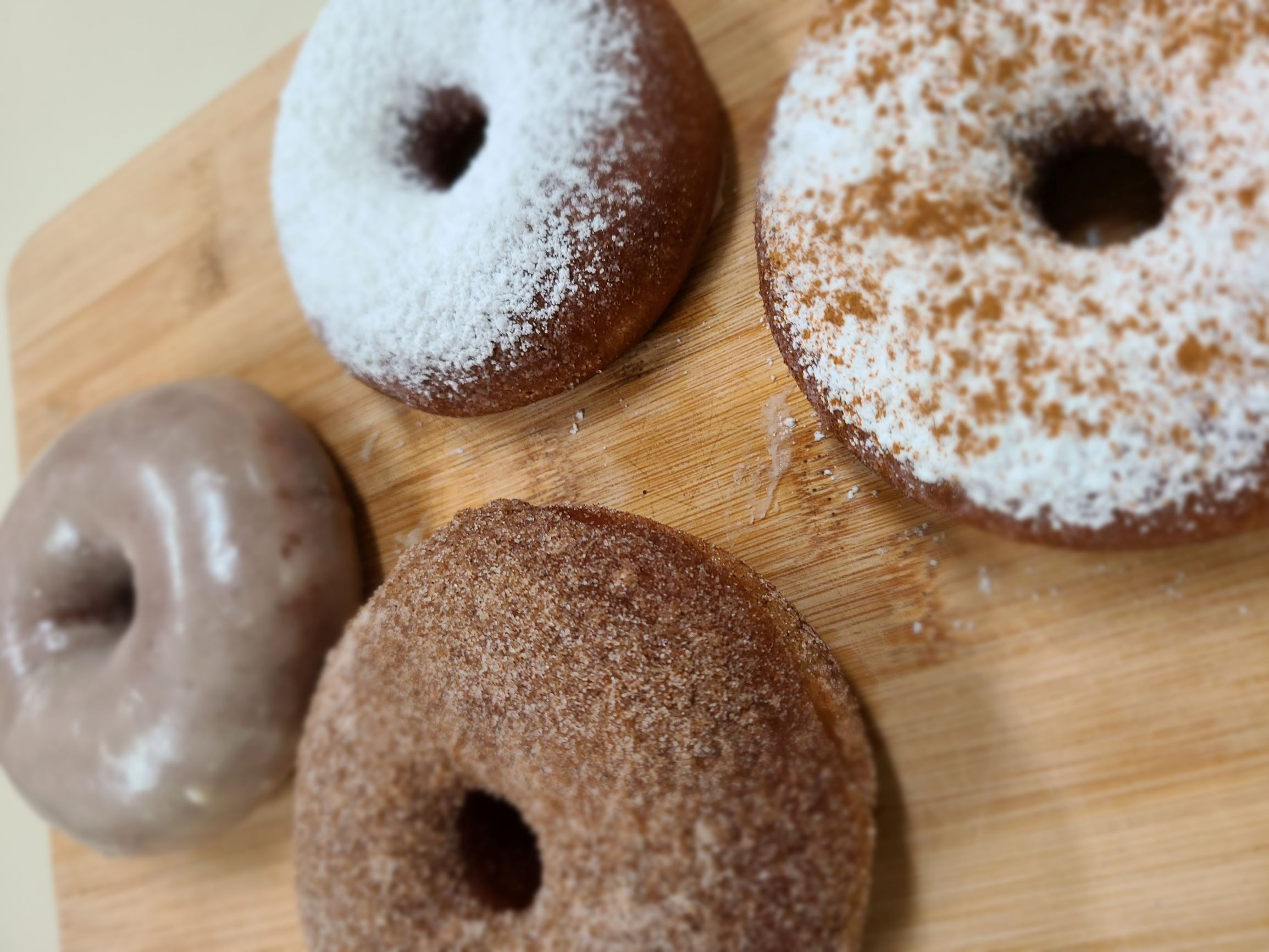 Whole Wheat Donuts
