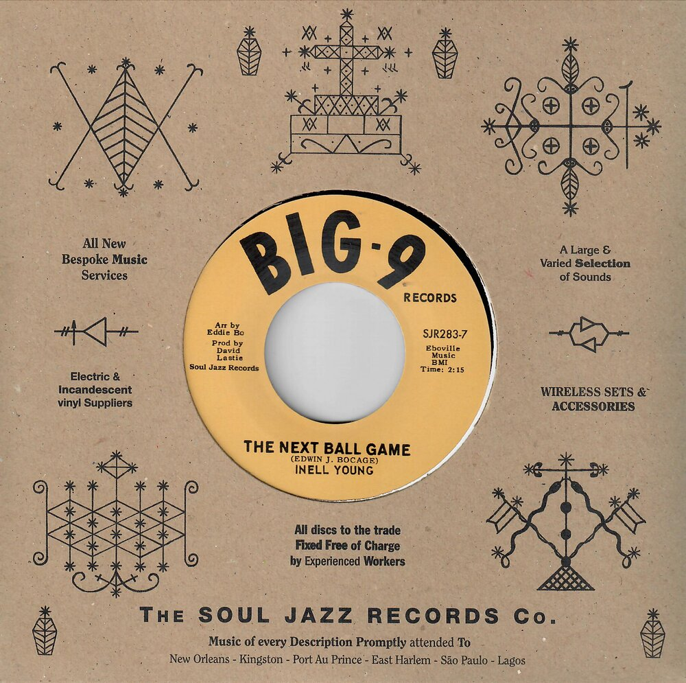 "Soul Jazz Rare 7""s: Inell Young - The Next Ball Game"
