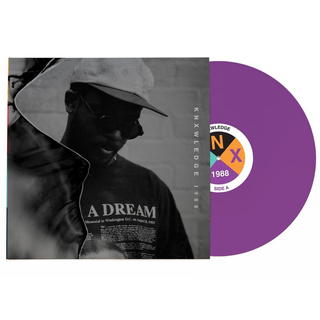 Knxwledge - 1988 Limited Edition Purple Vinyl