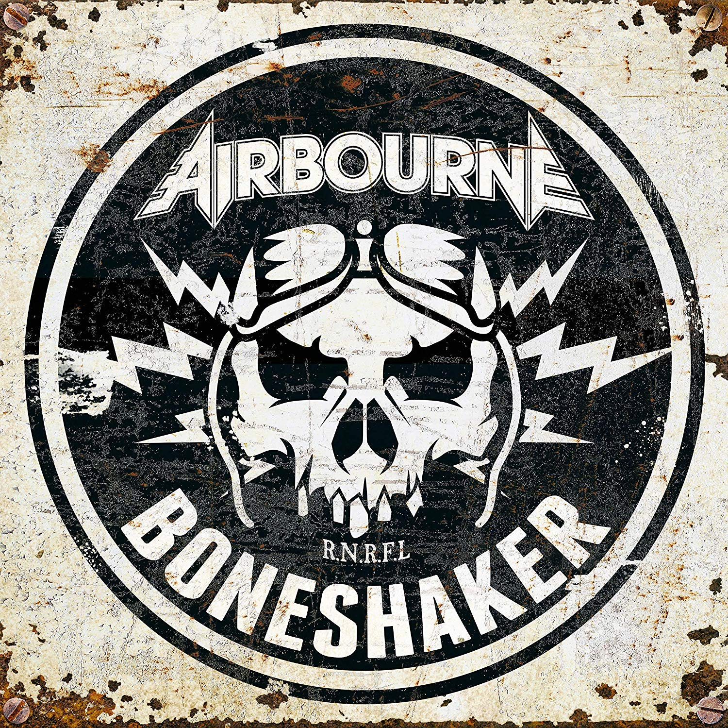 Airbourne - Boneshaker Extremely Limited Nitro Edition Clear Smoked Vinyl