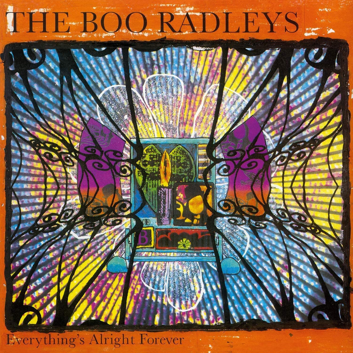 The Boo Radleys - Everything's Alright Forever Limited Edition Orange Vinyl Individually Numbered