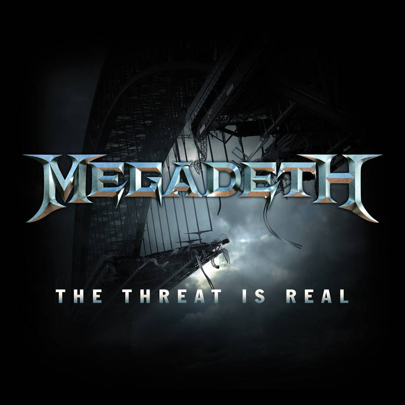 Megadeth ‎– The Threat Is Real Limited Edition White Vinyl RSD 2015