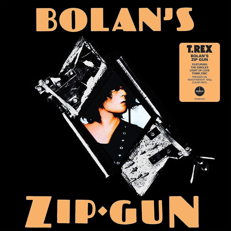 T.Rex - Bolan's Zip Gun Limited Edition Clear Vinyl