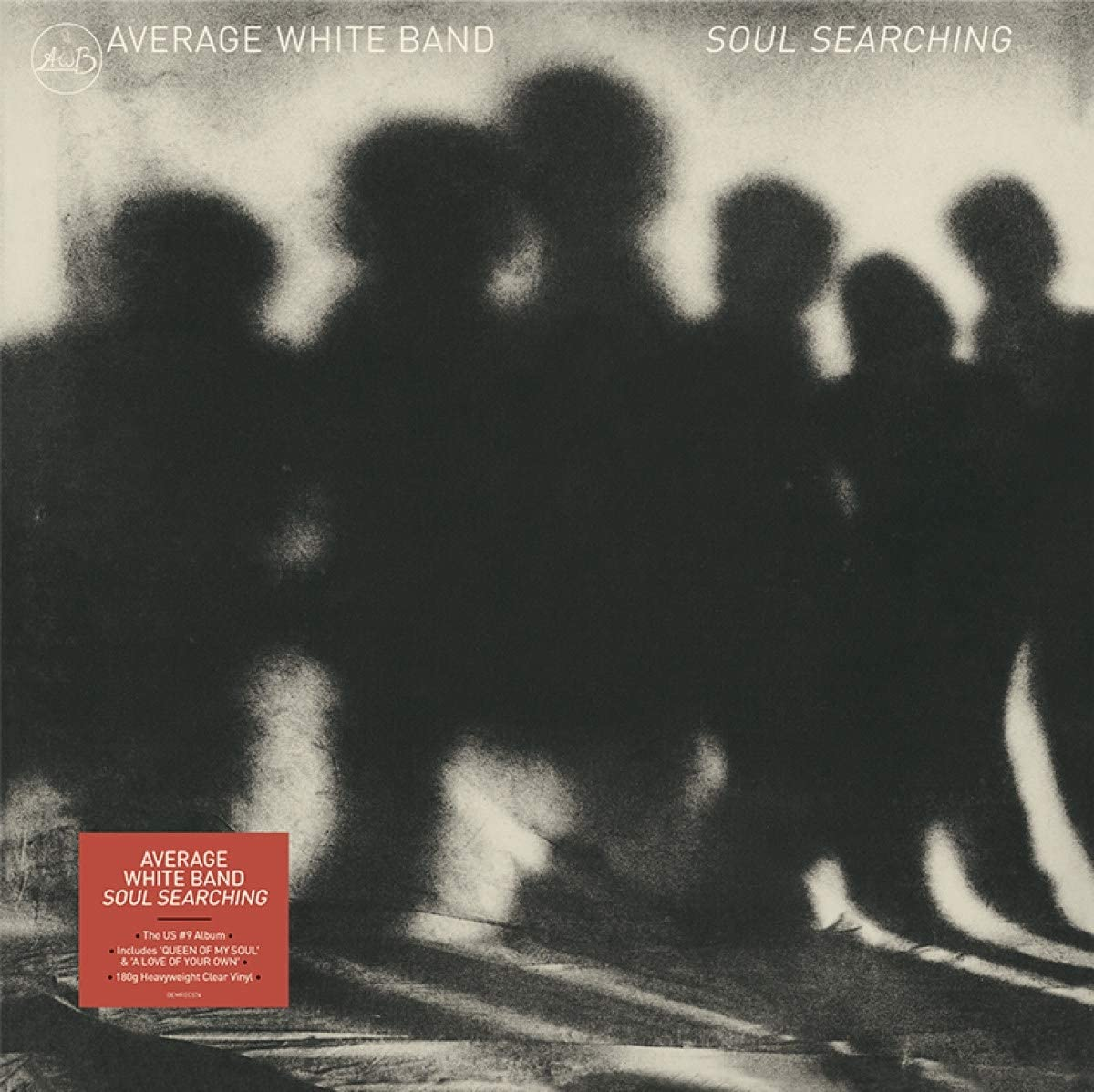 Average White Band - Soul Searching Limited Edition Clear Vinyl