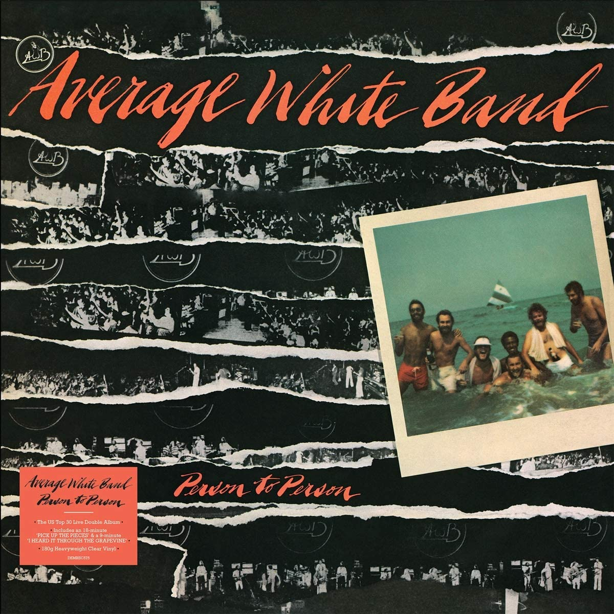 Average White Band - Person to Person Limited Edition Clear Vinyl