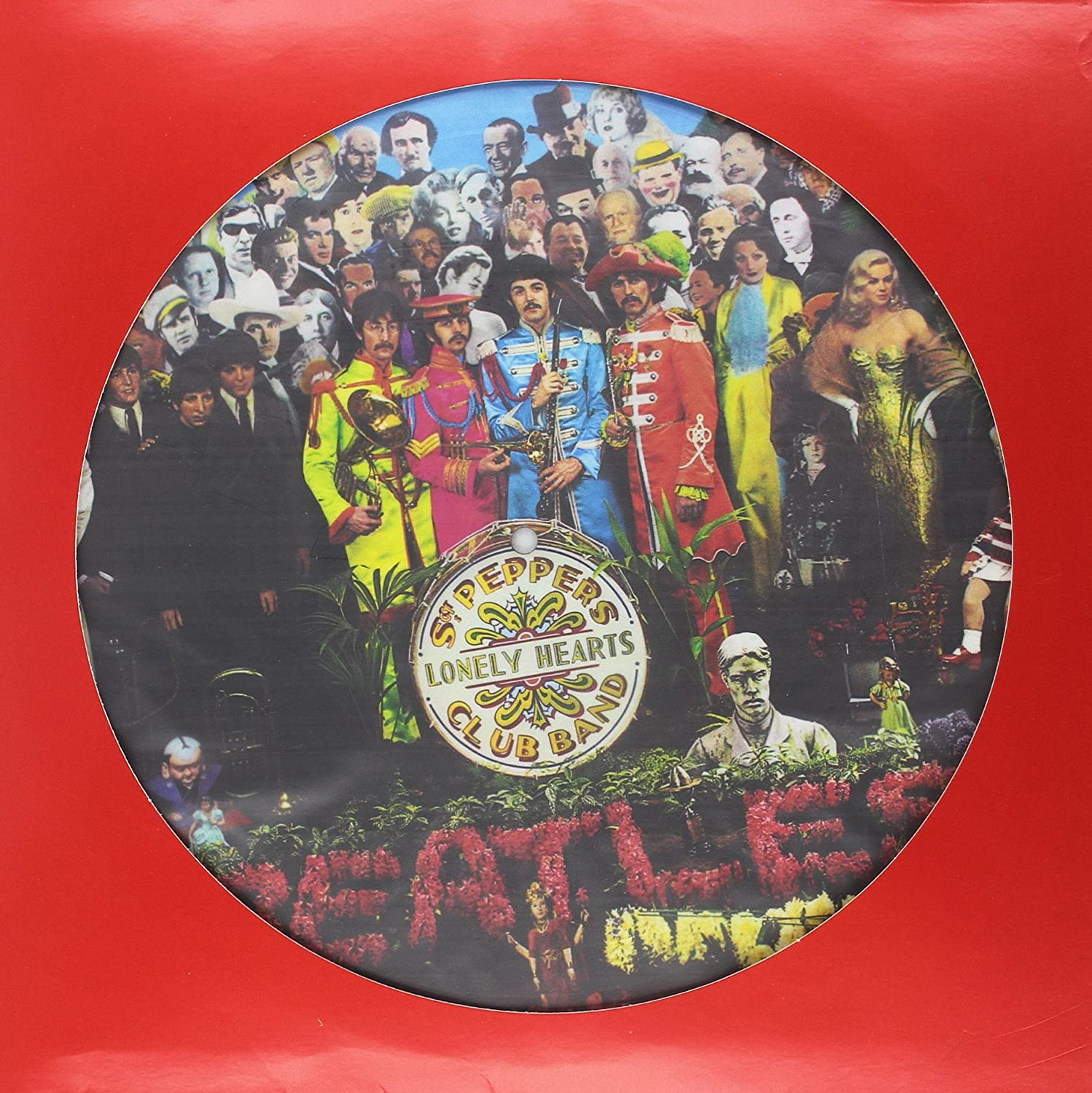 The Beatles - Sgt. Pepper's Lonely Hearts Club Band 2017 Stereo Mix Picture Disk Edition