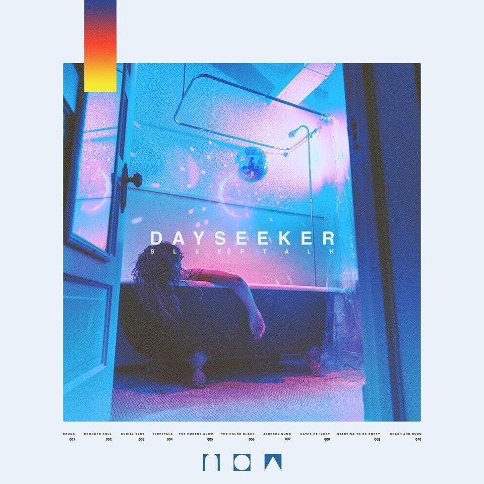 Dayseeker - Sleeptalk Limited Edition Transparent Blue Vinyl Only 250 Made
