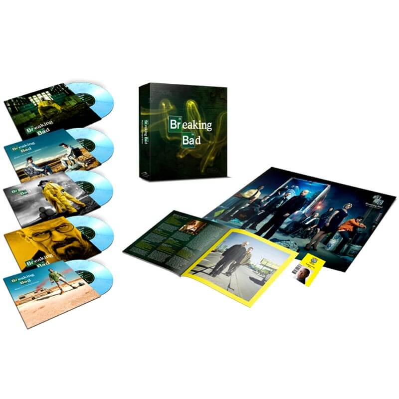 OST Breaking Bad Limited Edition Coloured Vinyl Box Set Individually Numbered