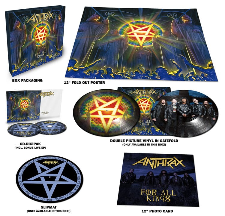 Anthrax – For All Kings Limited Edition Box Set