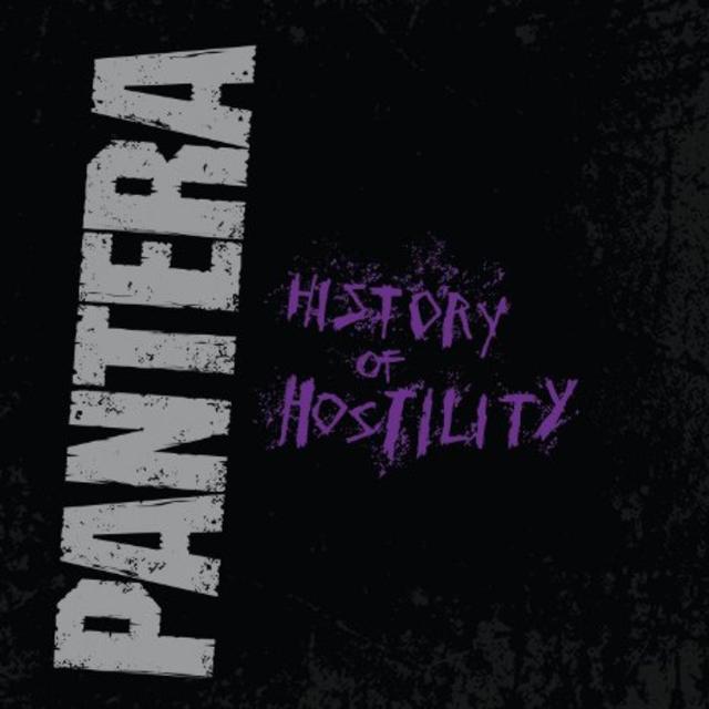 Pantera – History Of Hostility Limited Edition Silver Vinyl