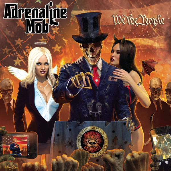 Adrenaline Mob ‎– We The People + CD