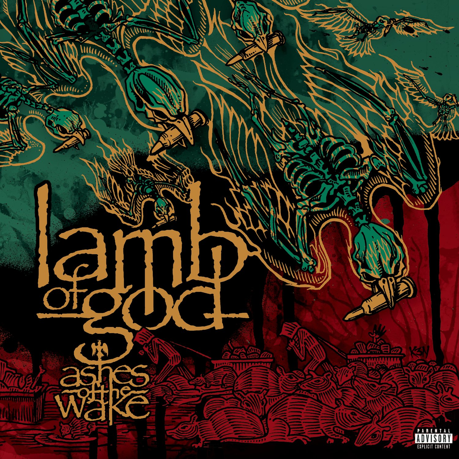 Lamb Of God – Ashes Of The Wake 15th Anniversary Edition